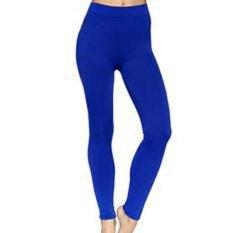 legging  standar panjang - biru Elektrik