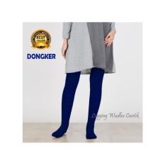 Legging Wudhu -STANDAR- UKURAN  fit L -Biru Dongker