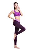 Toko Legging Gym Latihan Celana Panjang Olahraga Untuk Wanita China Yoga Fitness Lari Ungu Intl Lengkap