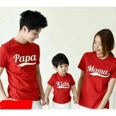 Legionshop Baju Couple Keluarga Kaos Keluarga Kaos Family Kaos Couple Family Pama Kids Red Ayah Bunda Anak Legionshop Murah Di Dki Jakarta