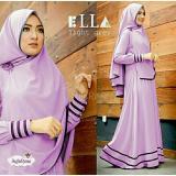Toko Legionshop Baju Muslim Hijab Dress Muslim Busana Muslim Dress Maxi 2 In 1 Syfarose Syari Bergo Lavender Legionshop Online