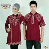 Toko Legionshop Baju Muslim Pasangan Muslim Couple Gerhana Maroon Termurah Indonesia