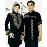 Ulasan Lengkap Tentang Legionshop Baju Muslim Pasangan Muslim Couple Honey Bordir Black