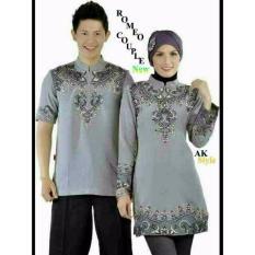 Harga Legionshop Baju Muslim Pasangan Muslim Couple Romeo Cp Grey Legionshop Terbaik