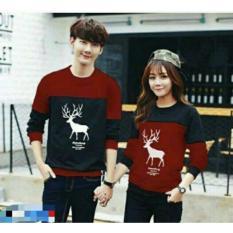 legiONshop-baju pasangan Kaos pasangan T-shirt couple trendy kaos pasangan kaos couple RUSASNOW