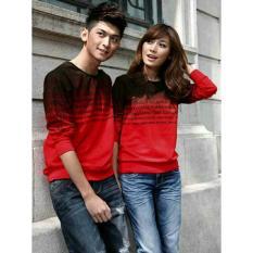Beli Legionshop Baju Pasangan Sweater Pasangan Sweater Couple Atasan Murah Baju Pria Dan Wanita Alphabet Red Dengan Kartu Kredit