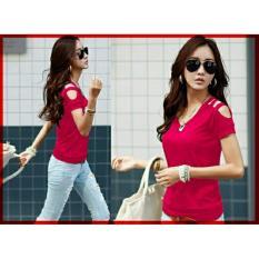 Jual Legionshop Baju Wanita Kaos Wanita Atasan Wanita Fashion Vneck Karen Salem Online Dki Jakarta