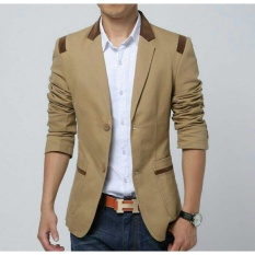 legiONshop-blazer pria  semi jas pria  baju pria  baju pria murah  blazer casual ROCKY brown