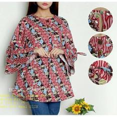 legiONshop-blouse jumbo wanita baju ukuran besar atasan wanita baju cewek  pakaian wanita jumbo batik e4f1e9272a