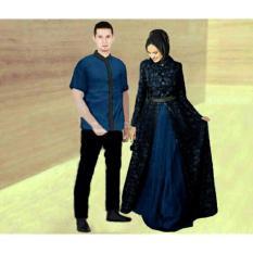 Dimana Beli Legionshop Busana Muslim Couple Zahira Navy Legionshop