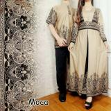 Harga Legionshop Busana Batik Dress Pasangan Dress Couple Baju Batik Couple Ananda Mocha Origin
