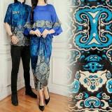 Beli Legionshop Busana Batik Dress Pasangan Dress Couple Baju Batik Couple Sania Harga Pasangan Kredit Dki Jakarta
