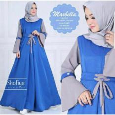 Review Toko Legionshop Busana Muslim Wanita Dress Maxi Baju Muslim Wanita Dress Wanita Marbella Benhur Online