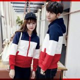 Toko Legionshop Jaket Pasangan Jaket Couple Estonia 3Tone Navy White Red Online