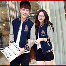 Spesifikasi Legionshop Jaket Pasangan Baju Pasangan Jaket Pria Dan Wanita Jaket Kembar Jaket Couple Jaket Kembar La Dodgers Harga Sudah 2 Jaket Lengkap Dengan Harga