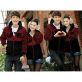 Review Pada Legionshop Jaket Pasangan Jaket Couple Love Maroon
