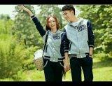 Jual Legionshop Jaket Pasangan Jaket Couple Qing Luoc Rib Grey Branded Original