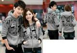Harga Legionshop Jaket Pasangan Jaket Couple Snowflake Grey Branded
