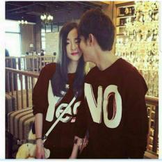 Jual Legionshop Kaos Couple Baju Pasangan Kaos Pasangan Yes No Maroon Baru