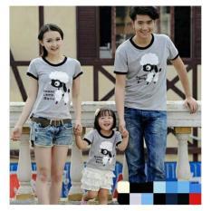 Harga Termurah Legionshop Kaos Keluarga T Shirt Family Ayah Bunda Anak Sweet Lamb Misty
