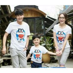 Harga Legionshop Kaos Keluarga T Shirt Family Ayah Bunda Anak Doramonmon Kaca Mata White Legionshop Asli