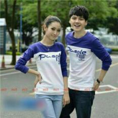 Beli Legionshop Kaos Pasangan T Shirt Couple Pusple Blue White Legionshop Asli