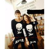 Spesifikasi Legionshop Kaos Pasangan T Shirt Couple Skull Joker Black Beserta Harganya