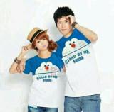 Toko Legionshop Kaos Pasangan T Shirt Couple Stand By Me Lengan Pendek Turkis Terlengkap