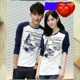 Legionshop Kaos Pasangan T Shirt Couple The White House Navy White Legionshop Diskon 50