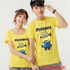 Legionshop Baju Pasangan Kaos Pasangan Atasan Couple Kaos Pria Dan Wanita Despicable Me Yellow Legionshop Diskon 30