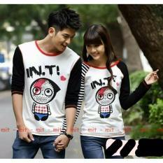 Tips Beli Legionshop Kaos Pasangan T Shirt Couple In T White Black