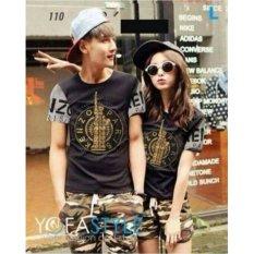Tips Beli Legionshop Kaos Pasangan T Shirt Couple Kenz Paris Black Grey Yang Bagus