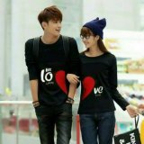 Legionshop Kaos Pasangan T Shirt Couple Let Love Black Legionshop Diskon 40