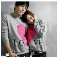 Beli Legionshop Kaos Pasangan T Shirt Couple Love Valentine Misty Dengan Kartu Kredit