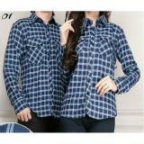 Toko Legionshop Kemeja Couple Kemeja Pasanngan Baju Copule Flanel Baju Couple Flanel 201 Navy Online Di Dki Jakarta