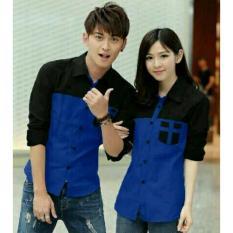 legiONshop - Kemeja Pasangan  baju pasangan  atasan murah  baju pria dan wanita AVERY (sudah harga 2 kemeja)