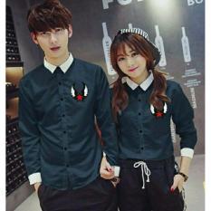 legiONshop - Kemeja Pasangan  Couple Shirt  atasan murah  baju couple ANGEL STAR (harga sudah pasangan)