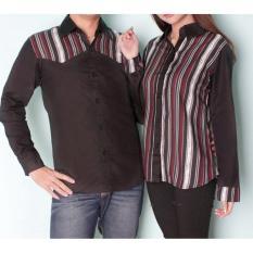Beli Legionshop Kemeja Pasangan Couple Shirt Atasan Murah Baju Kembar Baju Couple Winterline Harga Sudah 2 Kemeja Pakai Kartu Kredit