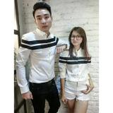 Spesifikasi Legionshop Kemeja Pasangan Couple Shirt Capital White