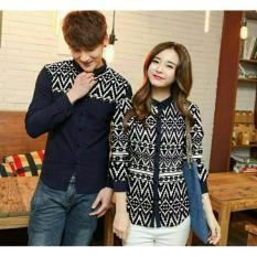 Review Legionshop Kemeja Pasangan Couple Shirt Stone Navy Legionshop Di Indonesia