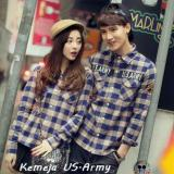Diskon Legionshop Kemeja Pasangan Couple Shirt U S Army Navy Cream Legionshop Indonesia