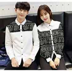 Jual Legionshop Kemeja Pasangan Couple Shirt Akiuri White Baru