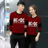 Harga Legionshop Sweater Pasangan Sweater Couple Ac Dc Maroon Dki Jakarta