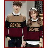 Toko Legionshop Sweater Pasangan Sweater Couple Ac Dc Mocha Black Maroon Lengkap Dki Jakarta