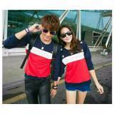 Toko Legionshop Sweater Pasangan Sweater Couple Bintang Navy Putih Merah Dki Jakarta