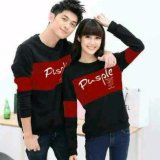 Spek Legionshop Sweater Pasangan Sweater Couple Pusple Black Maroon Legionshop