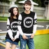 Spek Legionshop Sweater Pasangan Sweater Couple Xxx Black