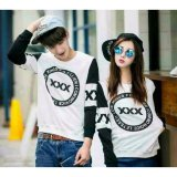 Promo Legionshop Sweater Pasangan Sweater Couple Xxx White Black