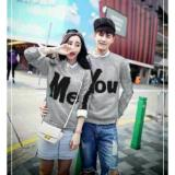 Promo Legionshop Sweater Pasangan Sweater Couple You Me Misty