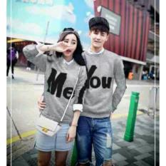 Toko Legionshop Sweater Pasangan Sweater Couple You Me Misty Termurah